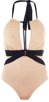 Biba Naomi Metallised Swimsuit