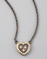 Jude Frances Heart Pendant Necklace