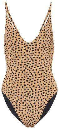 Haight Giu leopard-print swimsuit