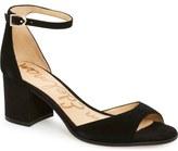 Sam Edelman 'Susie' d'Orsay Ankle Strap Sandal (Women)