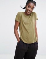 Monki Crew Neck T-Shirt