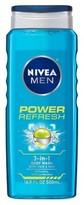 Nivea Men Power Refresh Body Wash 16.9 oz