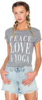 Spiritual Gangster Peace Love & Yoga Vintage Gym Tee
