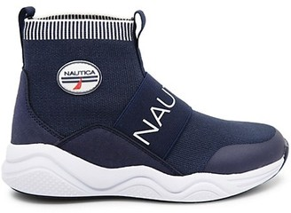 Nautica Boy's Silas Sock Sneakers