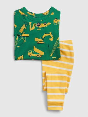 Gap babyGap Construction PJ Set