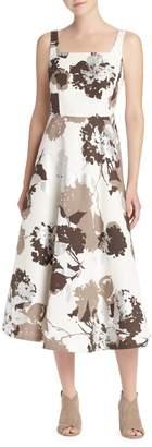 Lafayette 148 New York Arlene Floral Fit-&-Flare Dress