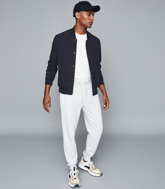 Reiss Bemish - Slim Fit Joggers in Light Blue