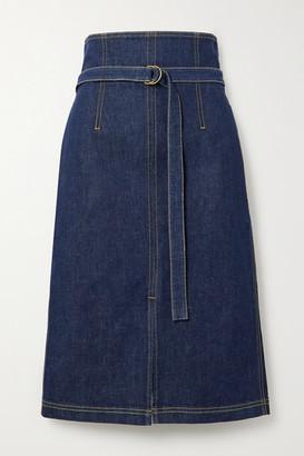 Philosophy di Lorenzo Serafini Belted Denim Skirt