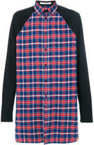 Givenchy oversized plaid shirt
