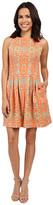 Christin Michaels Elyse Sleeveless Pleated Dress
