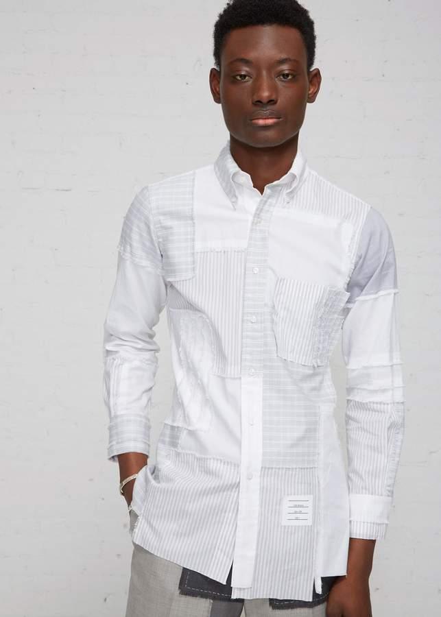 Thom Browne Patchwork Oxford Shirt