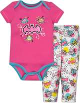 Warner Bros. Batgirl Onesie and Leggings Set - (3-6 Months)