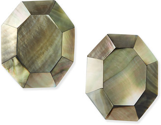 Viktoria Hayman Geometric Mother-of-Pearl Earrings