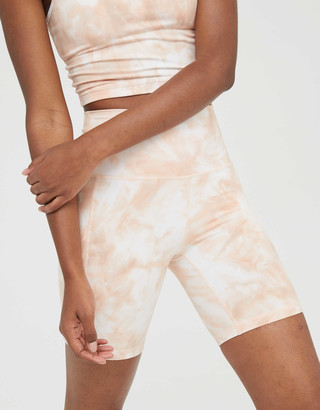 aerie OFFLINE The Hugger High Waisted Bike Short
