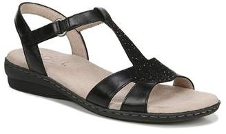 Naturalizer SOUL Bliss Wedge Leather Sandal - Wide Width Available