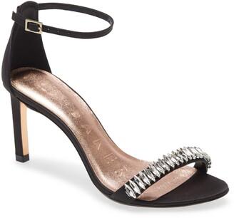 Ted Baker Saralia Crystal Embellished Ankle Strap Sandal