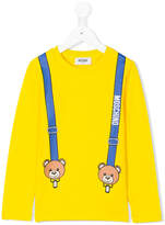 Moschino Kids printed sweatshirt