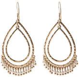 Oasis Pearl Jangly Hoop Earrings