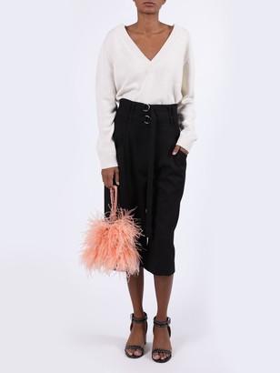 Proenza Schouler Cropped Wool Pants
