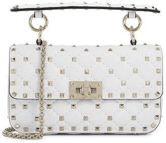 Valentino Rockstud Spike small leather cross-body bag