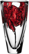 Kosta Boda Rose Tattoo Vase