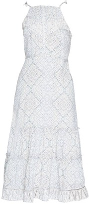 Parker Lillian Tiered Midi Dress