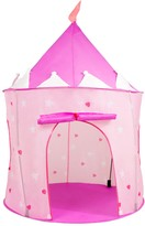 Hey Play Hey! Play! Indoor/Outdoor Princess Castle Pop- Up Play Tent Playhouse Hut