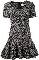 Carven floral print flippy dress - women - Polyester/Acetate/Viscose - 34