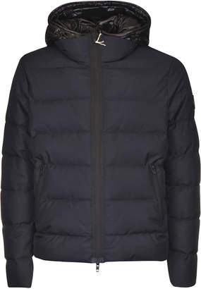 Fay Side Zip Pocket Hooded Padded Jacket