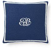 Ralph Lauren Leighton Canvas Square Pillow