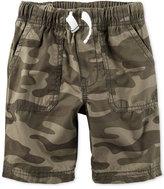 Carter's Camo-Print Shorts, Toddler Boys (2T-4T)