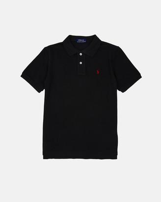 Polo Ralph Lauren Cotton Mesh Polo Shirt - Teen