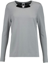 M Missoni Embellished stretch-jersey top