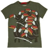 Myths Tucan Printed Cotton Jersey T-Shirt