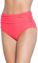 Betsey Johnson Beach Solid High Waist Bottom