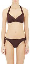 Eres Women's Vedette Halter Bikini Top-DARK BROWN