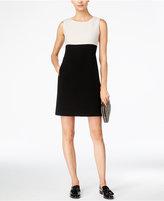 Max Mara Colorblocked Shift Dress