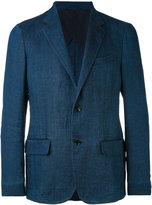 Ermenegildo Zegna flap pockets blazer - men - Linen/Flax/Polyamide - 46