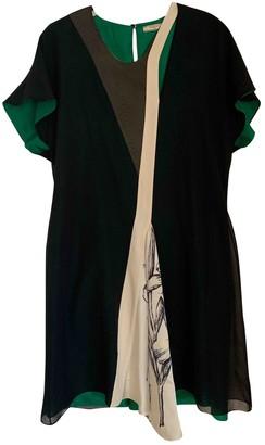 Bouchra Jarrar Black Silk Dresses