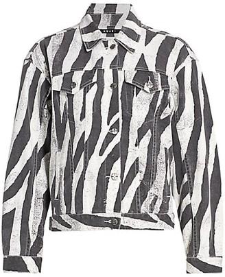Ksubi Zebra Trucker Jacket