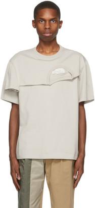 Feng Chen Wang Grey 2-In-1 T-Shirt