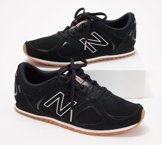 Isaac Mizrahi New Balance X Live! New Balance x Live! Suede Lace-Up Sneakers - 560