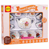 Alex Sweet Cupcake Tea Set 11-pc. Dress Up Accessory