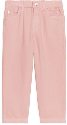 Arket Tapered Pull-On Lyocell Trousers