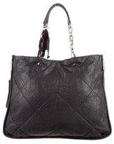 Lanvin Quilted Leather Satchel