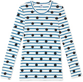 Petit Bateau Iconic womens printed long-sleeved T-shirt