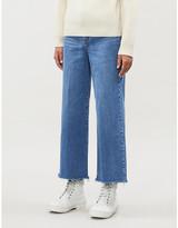 Nobody Denim Milla wide-leg high-rise jeans