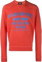 DSQUARED2 never mind print sweatshirt
