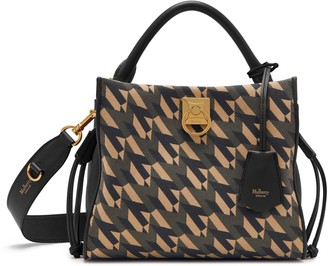 Mulberry Small Iris Black M Jacquard