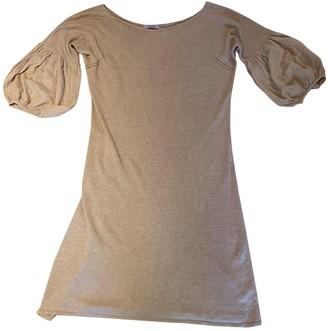 Calypso St. Barth Camel Cotton Dress for Women